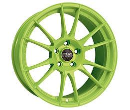 OZ ULTRALEGGERA HLT Green 8,5x20 5x114,3 ET25 Zelený lak