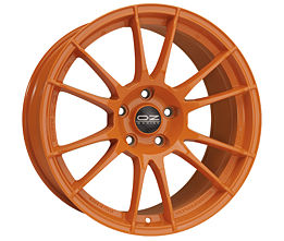 OZ ULTRALEGGERA HLT Orange 8,5x20 5x130 ET50 Oranžový lak